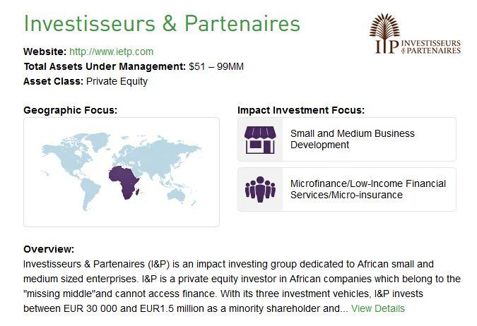 IA 50 - Investisseurs & Partenaires