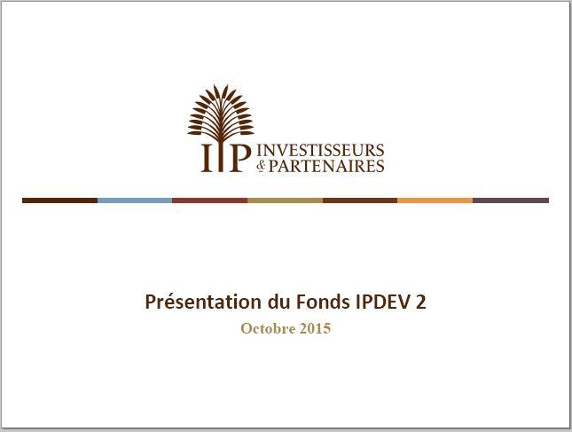 Présentation IPDEV2