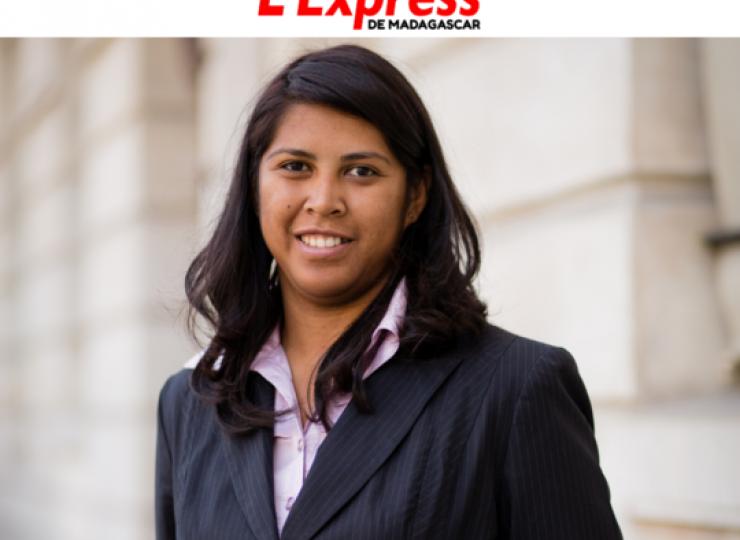 Mialy Ranaivoson - L'Express de Madagascar