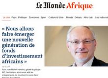 Monde Afrique Jean Michel Severino I&P Développement 2 IPDEV2